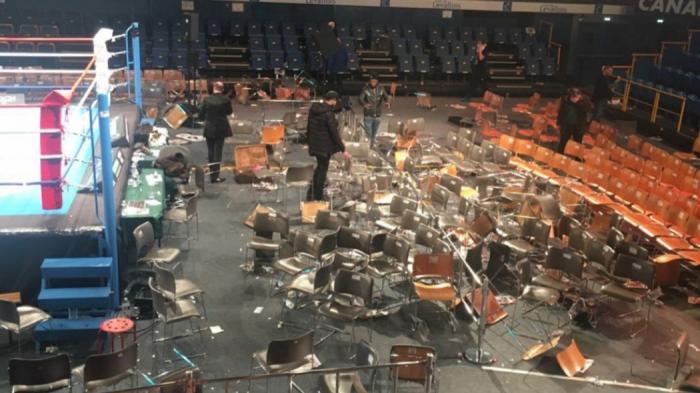 Αδιανόητο ξύλο μεταξύ θεατών σε αγώνα πυγμαχίας! (vid) | panathinaikos24.gr
