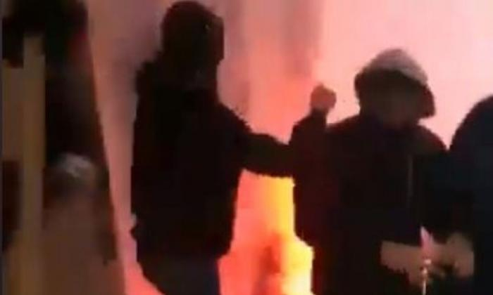 Σοκαριστικό video από τα επεισόδια στο Ηράκλειο πριν από τον τελικό! (video) | Panathinaikos24.gr