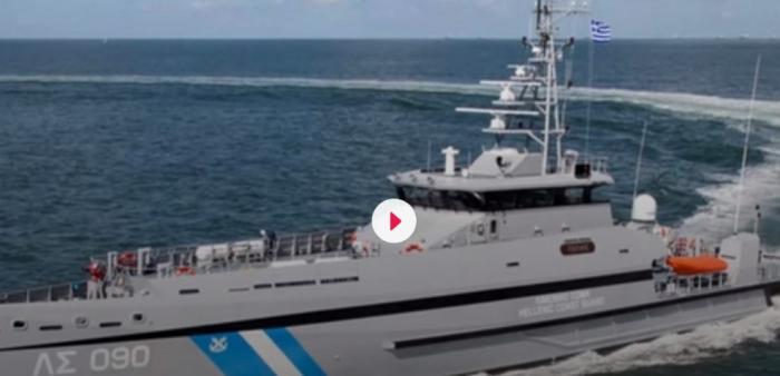ΠΑΘ 090 «Γαύδος»: Αυτό είναι το πλοίο του Λιμενικού που εμβόλισε η τουρκική ακταιωρός στα Ίμια (pics&vid) | panathinaikos24.gr