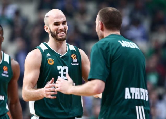 Το σόου του MVP Καλάθη! (vid) | panathinaikos24.gr
