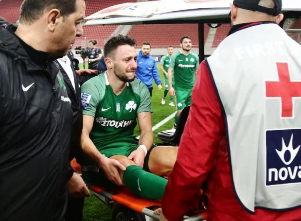 Η φωτογραφία του Άλτμαν με το τραυματισμένο του γόνατο (pic) | panathinaikos24.gr