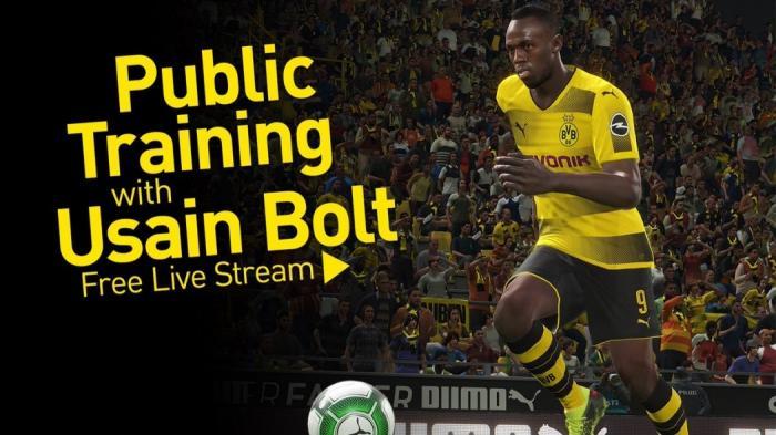 Live Streaming: Η πρώτη προπόνηση του Μπολτ στη Ντόρτμουντ | panathinaikos24.gr