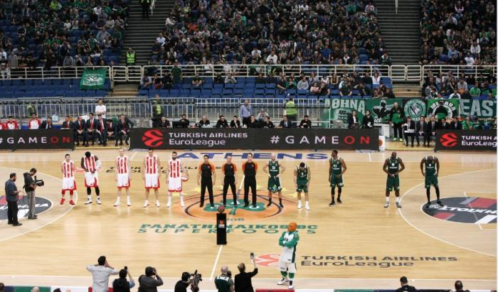 Δύο υπέροχα στιγμιότυπα από το ΟΑΚΑ με φόντο την «πράσινη» σημαία! (pics) | panathinaikos24.gr
