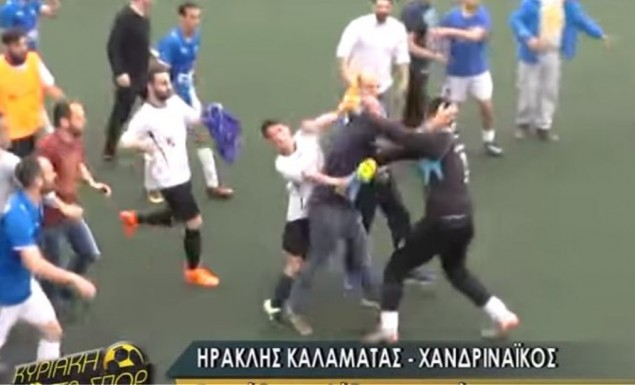 Ξύλο και των γονέων σε αγώνα τοπικού πρωταθλήματος στην Καλαμάτα (vid) | panathinaikos24.gr