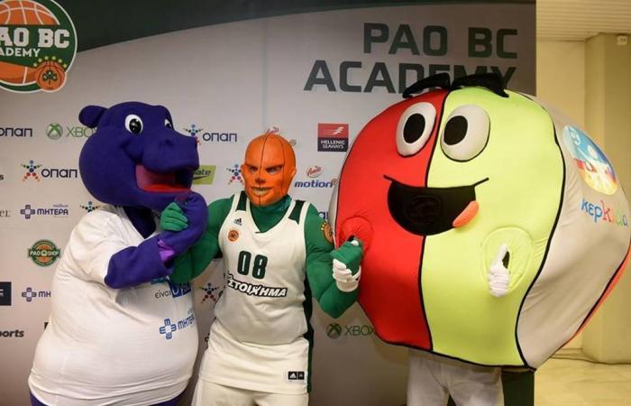 Επιτυχημένη η «Sponsors Day» της PAO BC Academy   panathinaikos24.gr