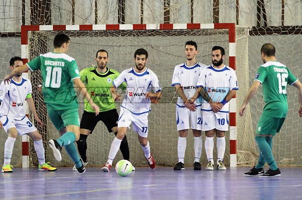 Futsal: Πρώτο βήμα για την κούπα! | panathinaikos24.gr