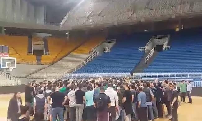 Ανατριχίλα: Ομάδα και κόσμος μαζί φωνάζουν «ΠΑΝΑΘΗΝΑΪΚΟΣ» (vid) | Panathinaikos24.gr