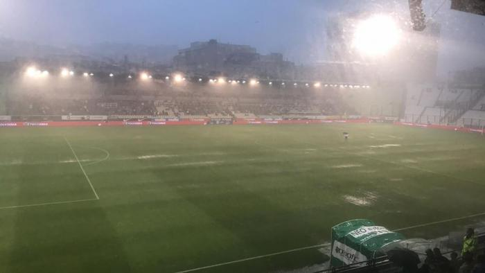 Διακοπή στο Παναθηναϊκός – Ξάνθη, καταρρακτώδης βροχή στη Λεωφόρο! (pics)   panathinaikos24.gr