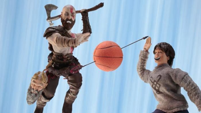 Οι κεντρικοί χαρακτήρες του God of War παίζουν μπάσκετ | Panathinaikos24.gr