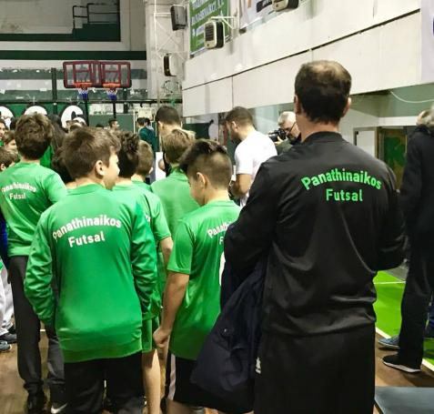 Νίκη για να το σηκώσει θέλει η U15 στο futsal!   panathinaikos24.gr