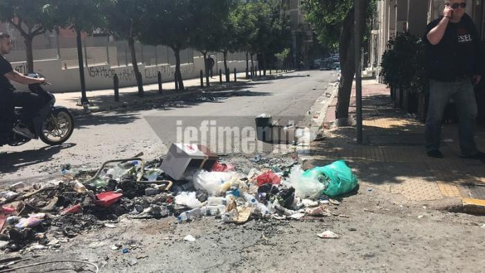 Οπαδοί πέταξαν μπουκάλια σε διερχόμενα αυτοκίνητα και μηχανάκια! (pics) | panathinaikos24.gr