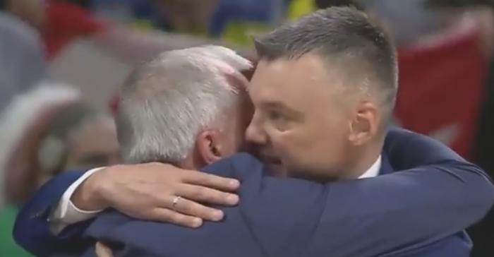Φοβερή στιγμή: Η αγκαλιά Ζοτς – Σάρας στο τέλος του ματς (vid) | panathinaikos24.gr