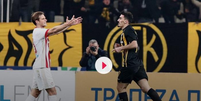 Απίστευτο: Ο Λάζαρος δεν πανηγύρισε γκολ εναντίον του Ολυμπιακού! | panathinaikos24.gr