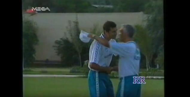 ΡΕΤΡΟ: Η πρώτη προπόνηση του Τάσου Μητρόπουλου στην Παιανία (vid) | Panathinaikos24.gr