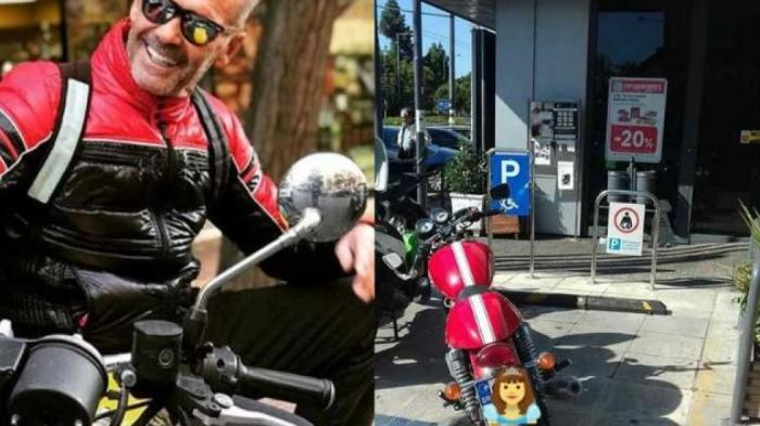 Ο Πέτρος Κωστόπουλος πάρκαρε σε θέση για ΑΜΕΑ και προκάλεσε: «Σε γράφω στα αρ@@ μου!» | panathinaikos24.gr