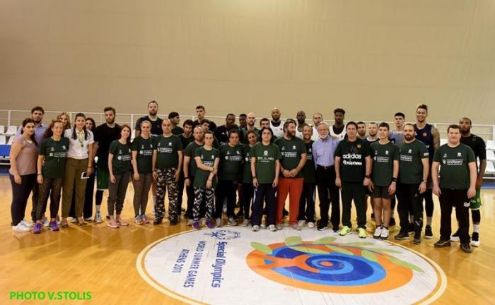 Συνέχεια στο ΟΑΚΑ για το «One Team» – Basketball is Everywhere (vid+pics)   Panathinaikos24.gr