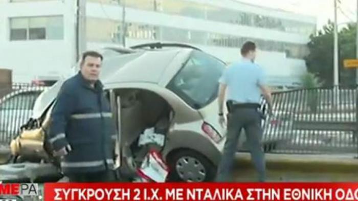 Τραγωδία με έναν νεκρό και δύο τραυματίες στον Κηφισό – Νταλίκα πέρασε στο αντίθετο ρεύμα | Panathinaikos24.gr