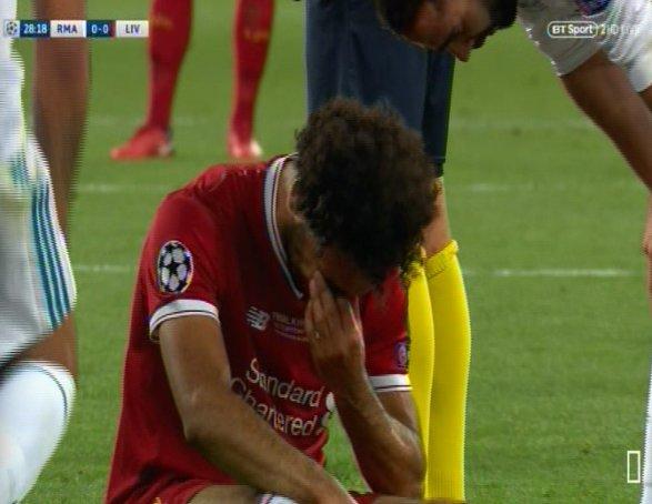 Αναγκαστική αλλαγή ο Σαλάχ – Ο τραυματισμός και το κλάμα (vid) | Panathinaikos24.gr