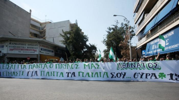 Video: Ο κόσμος του Παναθηναϊκού «αποχαιρέτησε» τον Παύλο | panathinaikos24.gr