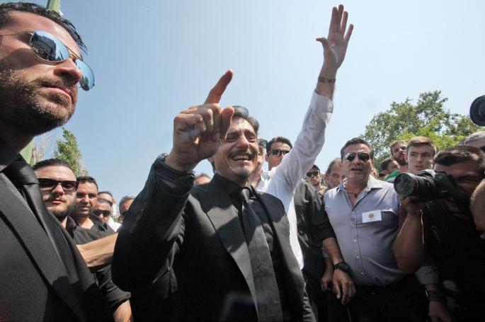 Δ. Γιαννακόπουλος στον κόσμο: «Σας αγαπούσε πολύ, του δίνατε δύναμη» (pics) | panathinaikos24.gr
