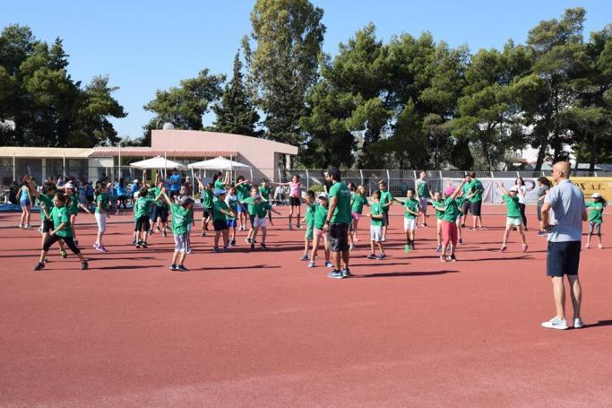 Πλήθος παιδιών στους αγώνες Στίβου του ΠΑΟ στα Σπάτα! | panathinaikos24.gr