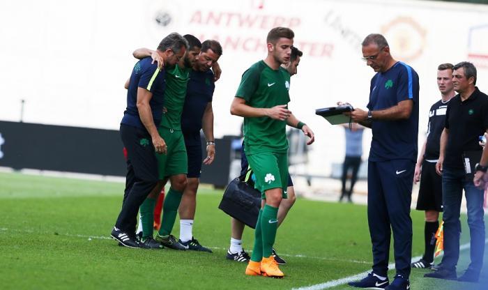 Κάκωση στο αριστερό γόνατο ο Ινσούα | panathinaikos24.gr
