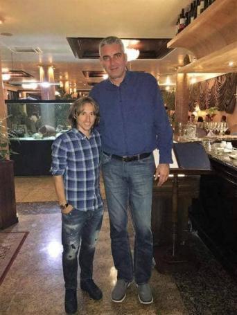 Φωτογραφία – ΕΠΟΣ: Ο Στόγιαν Βράνκοβιτς μαζί με τον Μόντριτς! (pic) | panathinaikos24.gr