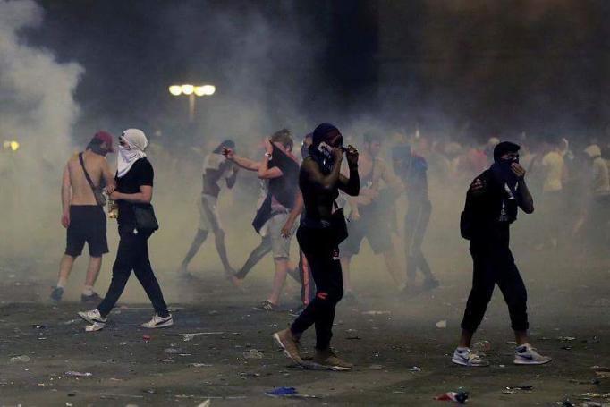 Παρίσι: Δακρυγόνα, επεισόδια και μάχες σώμα με σώμα (pics&vids) | panathinaikos24.gr