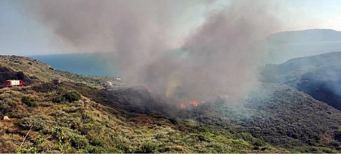 Φωτιά τώρα στην Ζάκυνθο! | panathinaikos24.gr
