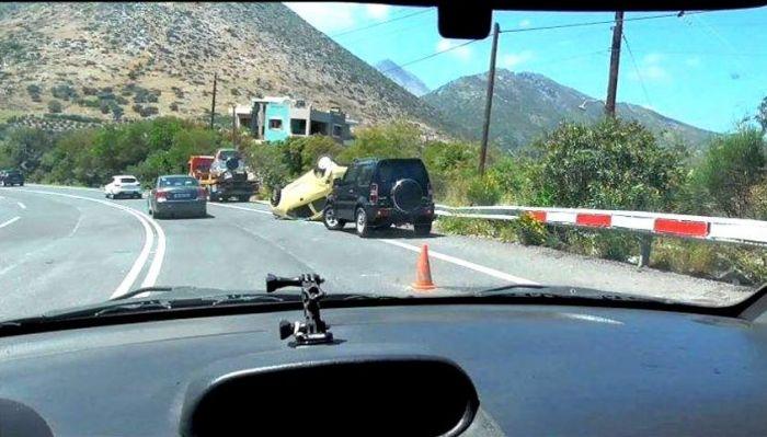 Κάνεις το σταυρό σου: Ο πιο επικίνδυνος δρόμος-καρμανιόλα στην Ελλάδα   panathinaikos24.gr