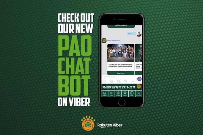 Έφτασε το νέο PAO Chat bot στο Viber | panathinaikos24.gr