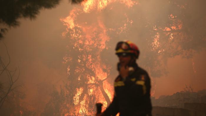 Έκτακτο: Μεγάλη φωτιά στη Ρόδο | panathinaikos24.gr