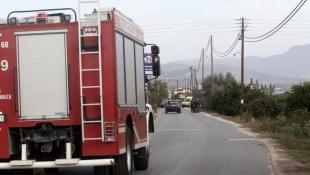 Εκτακτο: Μεγάλη φωτιά στην Κερατέα