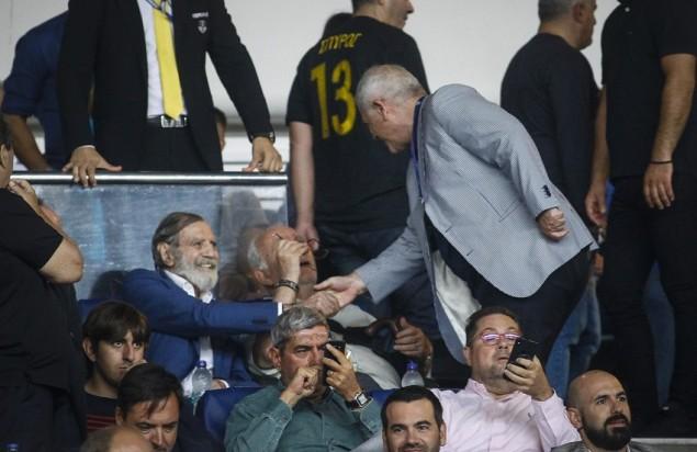 Στο ΟΑΚΑ ο Γιώργος Βαρδινογιάννης (pics) | panathinaikos24.gr