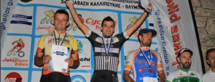 Ποδηλασία: Τέταρτος ο Πετσιάς στα Τέμπη | panathinaikos24.gr