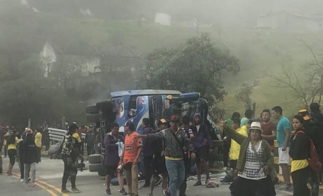 Τραγωδία στον Ισημερινό – Δέκα φίλοι της Μπαρτσελόνα νεκροί από ανατροπή λεωφορείου (pic) | panathinaikos24.gr