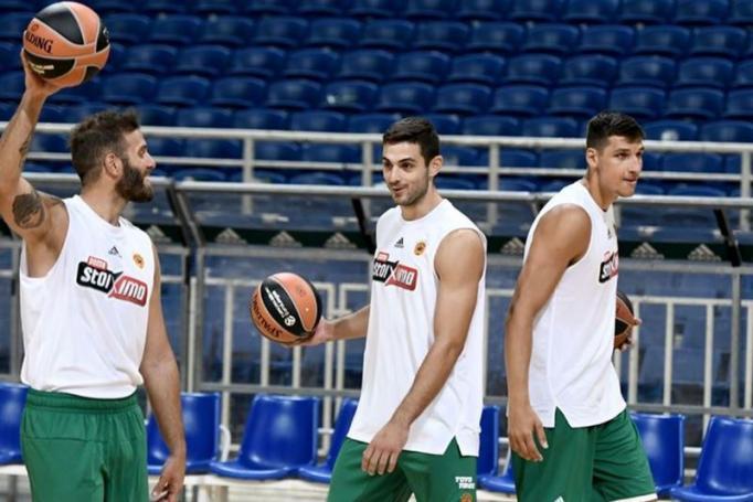 Παναθηναϊκός ΟΠΑΠ: Διπλή προπόνηση στο ΟΑΚΑ | panathinaikos24.gr