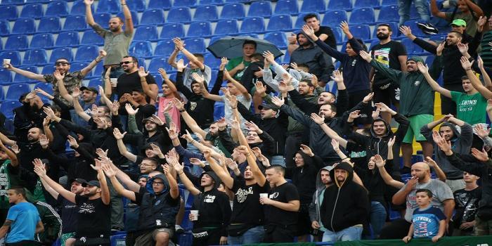 Ατρόμητος-Παναθηναϊκός: Πανό και συνθήματα κατά Αλαφούζο στο Περιστέρι (Pic) | panathinaikos24.gr