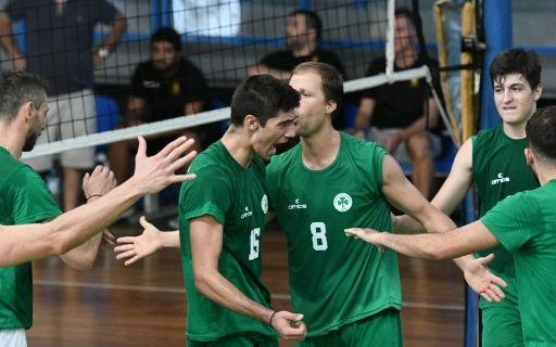 Βόλεϊ Ανδρών: Με το… δεξί ο Παναθηναϊκός | panathinaikos24.gr