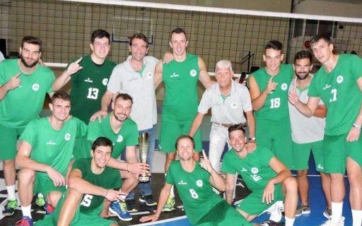 Βόλεϊ Ανδρών: Βάφτηκε «πράσινο» το τουρνουά στην Πάτρα | panathinaikos24.gr