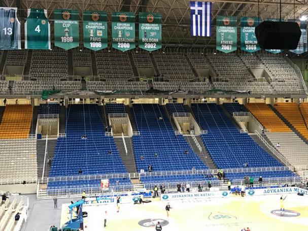 Οι πρώτες εικόνες από το ΟΑΚΑ και οι ετοιμασίες της 13 για το μεγάλο πανό για τον Παύλο Γιαννακόπουλο (pics) | panathinaikos24.gr