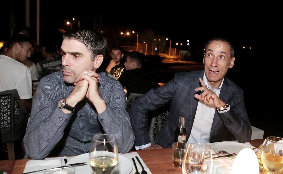 Φωτογραφίες από το δείπνο της ομάδας του Παναθηναϊκού
