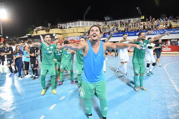 Futsal: Στιγμές αποθέωσης για το «Τριφύλλι» στο Ζάγκρεμπ (vid) | panathinaikos24.gr