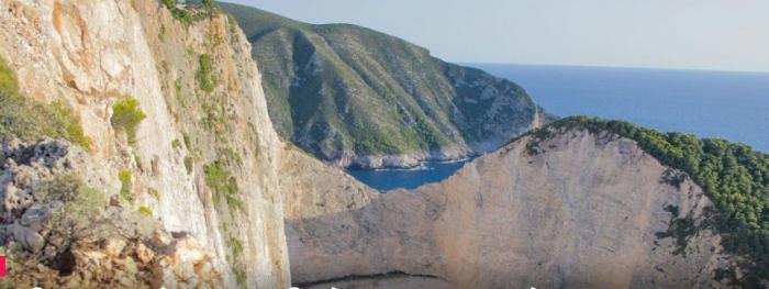 Ζάκυνθος: Έπεσε βράχος στο Ναυάγιο – Δείτε φωτογραφίες | panathinaikos24.gr