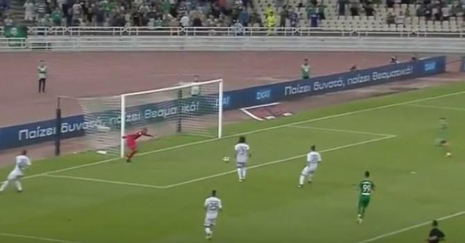 Παναθηναϊκός – Λεβαδειακός: Το 2-0 από τον Χατζηθεοδωρίδη! (vid) | panathinaikos24.gr