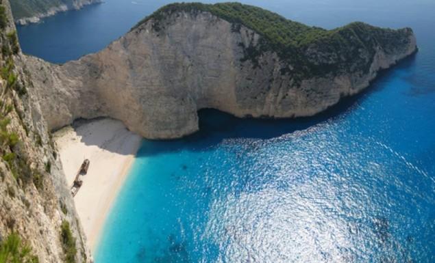 Ζάκυνθος: Bίντεο από την ώρα της κατολίσθησης στην παραλία του Ναυαγίου! (vid) | panathinaikos24.gr