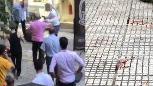 Βίντεο – σοκ από την απόπειρα ληστείας στην Ομόνοια (vid)