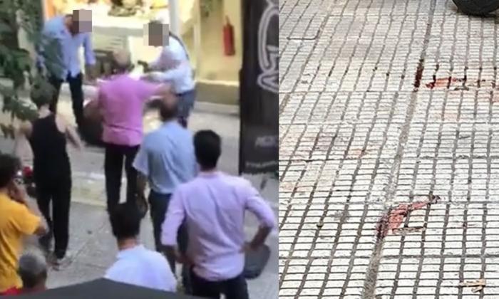 Βίντεο – σοκ από την απόπειρα ληστείας στην Ομόνοια (vid) | panathinaikos24.gr