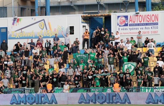 Δίπλα στον κόσμο της ομάδας 500 «πράσινοι» οπαδοί | panathinaikos24.gr