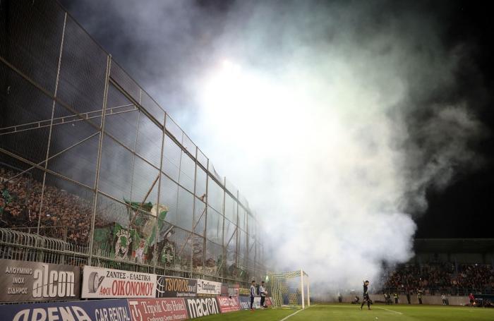 Η πιο Παναθηναϊκή φωτογραφία: Πέταλο, καπνογόνα και πράσινος παλμός (pic) | panathinaikos24.gr